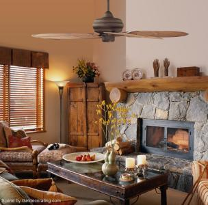 Rustic Lodge Home Room Photo