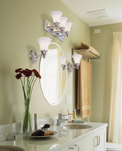 designing with light in the bathroom