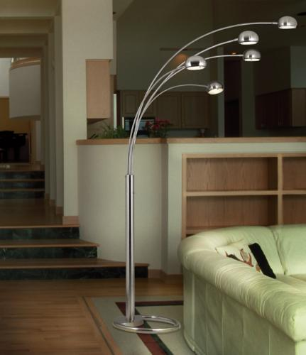 Arc Floor Lamps Are Perfect For Large Living Rooms Room