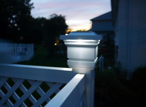 Outdoor Patio Post Light Picture