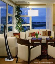 Planar Floor Lamp Room Scene
