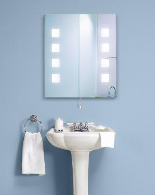 Lite Source Lighted Wall Mirror