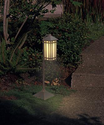 A Low Voltage Landscape Light