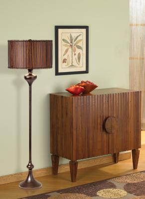 Bali Tropical Floor Lamp