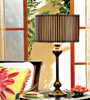 Tropical Table Lamp Design Photo