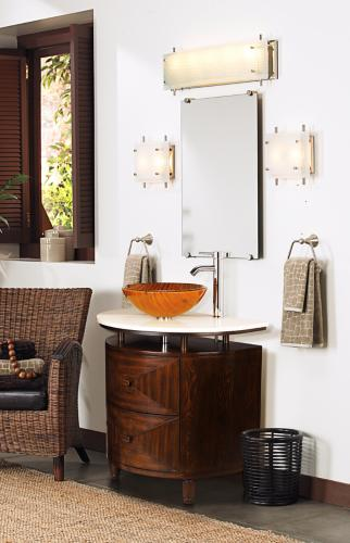 Contemporary bathroom vessel sink picture.