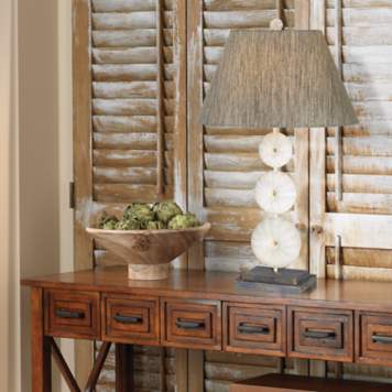 Enhance your hallway decor with accents from the shore.