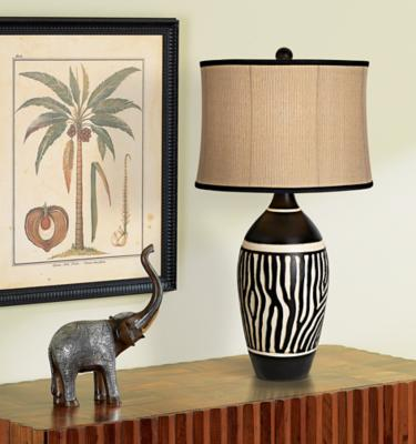 Zebra Table Lamp Picture