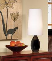 Black Mini Gourd Table Lamp