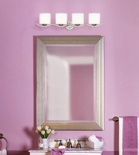 Lights Plus Decor: Lavender Is A Cheery Wall Color For A Transitional