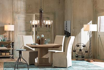 Romantic vintage plus contemporary chic equals an irresistibly modern mix.