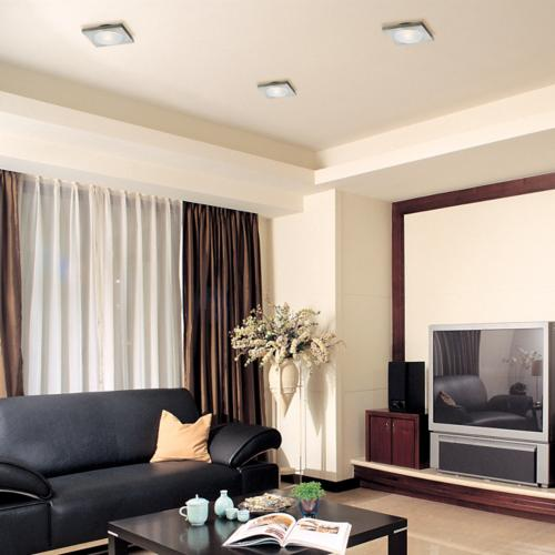 ceiling lighting, et2, living room, contemporary