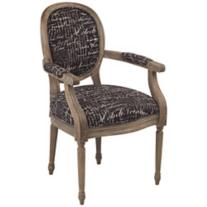 Avril Font Noir Accent Chair