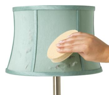 Sponge Lamp Shade Cleaner