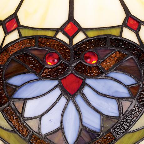 Tiffany Glass Close-up Look