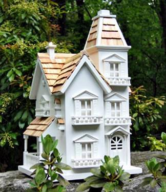 Victorian Bird House Photo