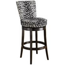 "Dayne Zebra 26"" Counter Stool"