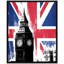 "London Calling 10 1/2"" Wall Art"