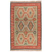 "Malka 3'6""x5'6"" Green Area Rug"
