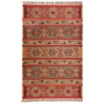 Dahana 8'x10' Red Area Rug