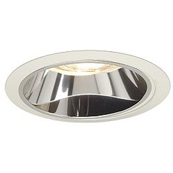 "Juno 6"" Line Voltage Clear Alzak White Recessed Light Trim"