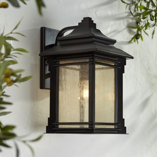 "Hickory Point 16"" High Bronze Outdoor Wall Light"