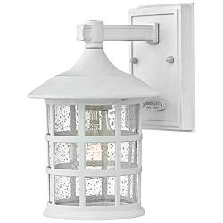 "Freeport 9 1/4"" High Classic White LED Outdoor Wall Light"