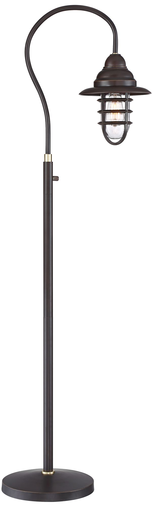 Franklin Iron Works Knox Oil Rubbed Bronze Floor Lamp
