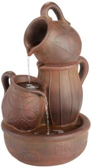 "Water Jug 24"" High Rust..."