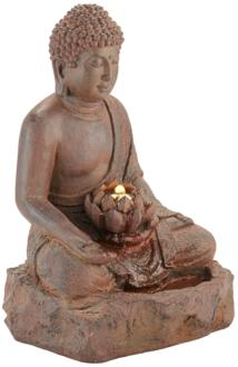 "Buddha 24"" High Rust..."