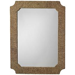 "Jamie Young Marina Seagrass 36"" x 48"" Wall Mirror"
