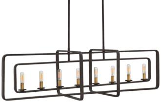 "Hinkley Quentin 45"" Wide Bronze 8-Light Island Chandelier (1V296)"