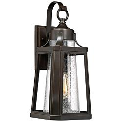 "Quoizel Lighthouse 19 3/4"" High Bronze Outdoor Wall Light"