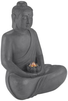 "Buddha 25"" High Gray..."