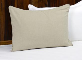 Clarin Natural Fabric Standard Pillow Sham (22P01)