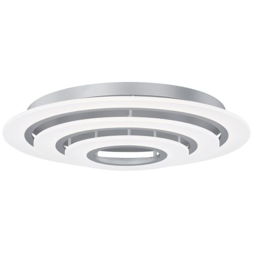 "ET2 Saturn II 31 1/2"" Wide Matte Silver LED Ceiling Light"