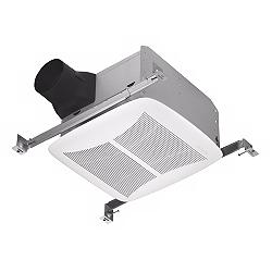 "NuTone White 110 CFM 4"" Ducting Bathroom Exhaust Fan"