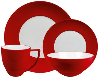 uno chili 4-piece place setting (2j172)