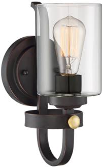 "Eagleton 12"" High Oil-Rubbed Bronze LED Wall Sconce (35F50) 35F50"