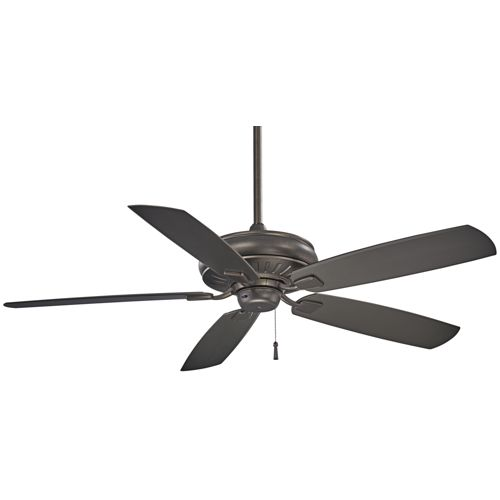 "60"" Minka Aire Sunseeker Smoked Iron Ceiling Fan"