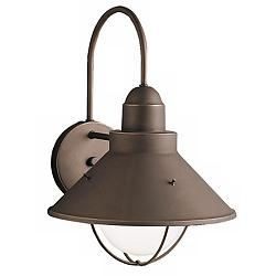 "Kichler Rustic Seaside 14 1/2"" High Outdoor Wall Light"