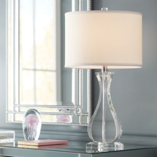 Amelia Crystal Vase Table Lamp by Vienna Full Spectrum