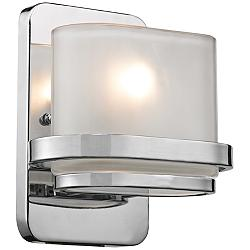 "Bismark Collection 8"" High Polished Chrome Wall Sconce"