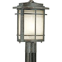 Quoizel Galen Bronze Large Outdoor Post Lantern