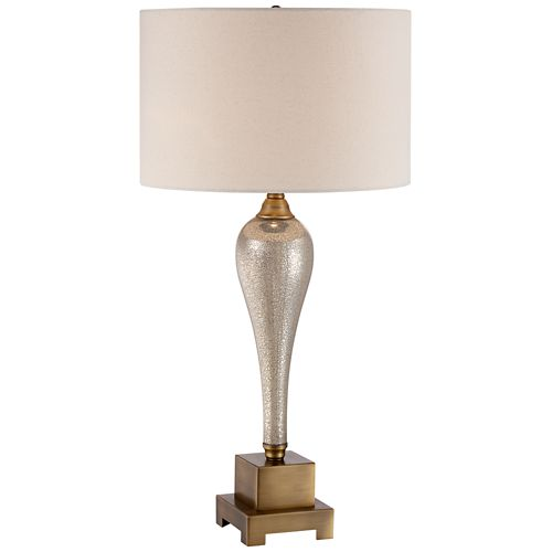 Gigi Mercury Glass Table Lamp by Possini Euro Design