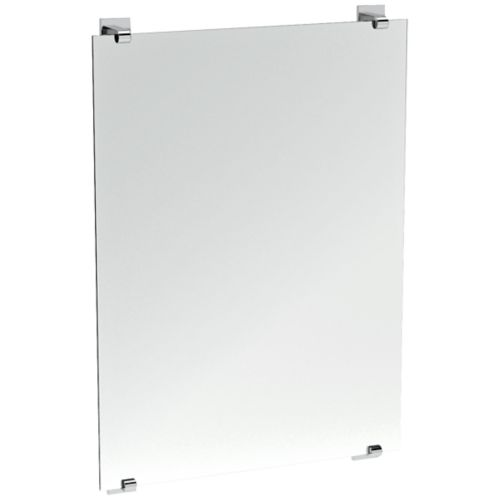 "Gatco Elevate Chrome 22"" x 32"" Frameless Vanity Mirror"