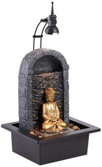 "Buddha 17"" High Gold..."