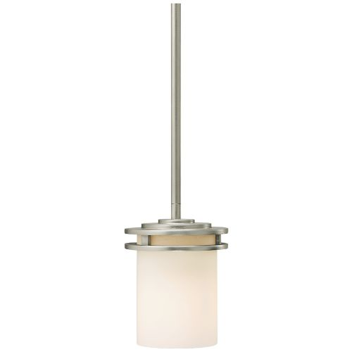 "Hendrik Nickel 5 1/2"" Wide Mini Pendant Chandelier"