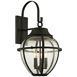 "Bunker Hill 23 3/4"" High Vintage Bronze Outdoor Wall Light"