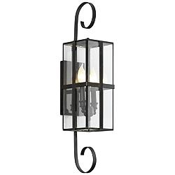 "Rutherford 26 3/4"" High Charred Bronze Outdoor Wall Light"